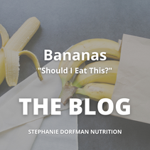 "Unravelling Thoughts on Bananas - ""Should I Eat This?"""
