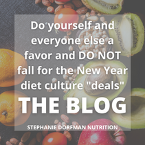 Do Not Fall for the Diet Culture Traps!