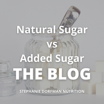 Natural Sugar vs Added Sugar - What is the Difference?