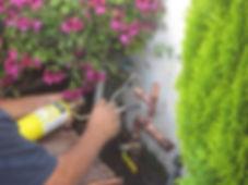 Sprinkler systems installation