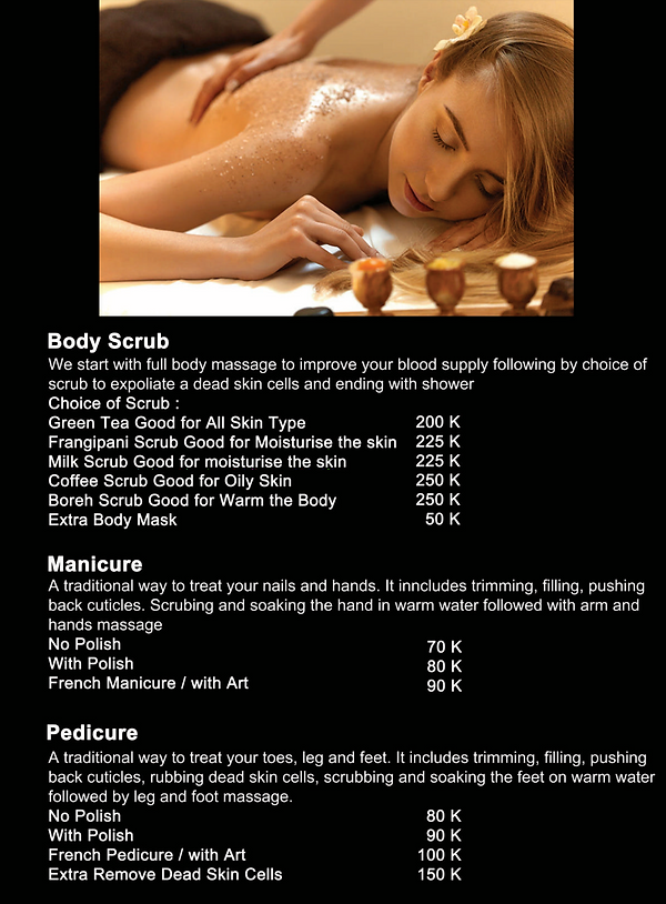 Body care Bali