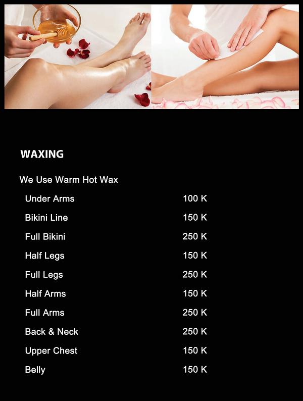 Waxing services bali