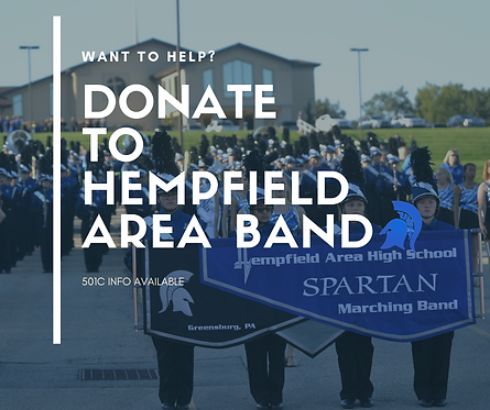 Donate to Hempfield Band