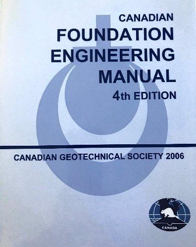 Canadian Foundation Engineering Manual - English