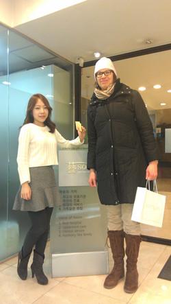 Jessie Chin Yeson Voice Center and Mona