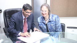 Dr. Narendra Kaushik and Mona