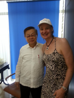 Dr. Preecha (PAI) and Mona