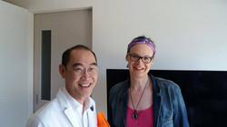 Dr. Sanguan and Mona