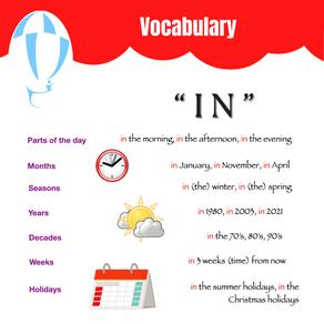 Vocabulary IN Bristol Lane