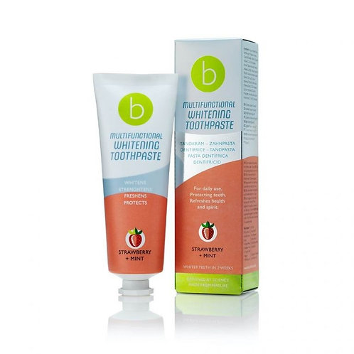 BECONFIDENT BLANQUEADOR FRESA+MENTA 75ML