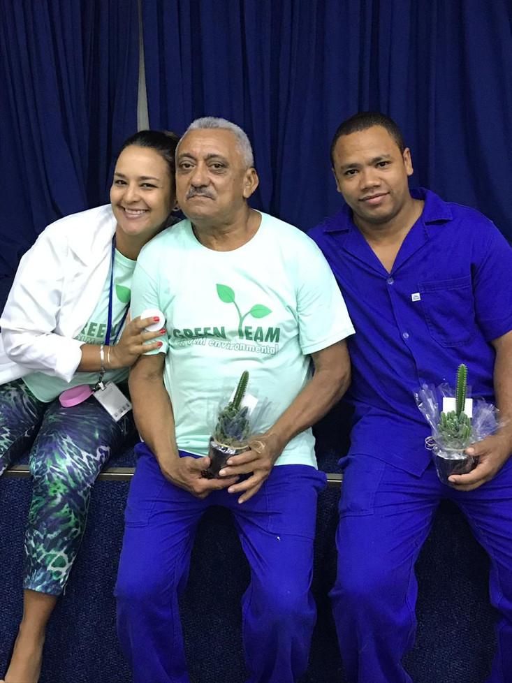 Giovanna, Seu Zé e Bruno