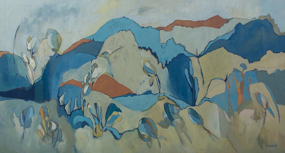 Aimee Bonham abstract artist oil painting