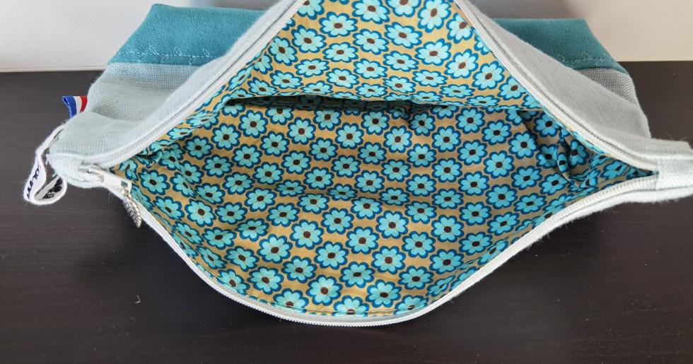 Pochette Fleur Bleue (intérieur)