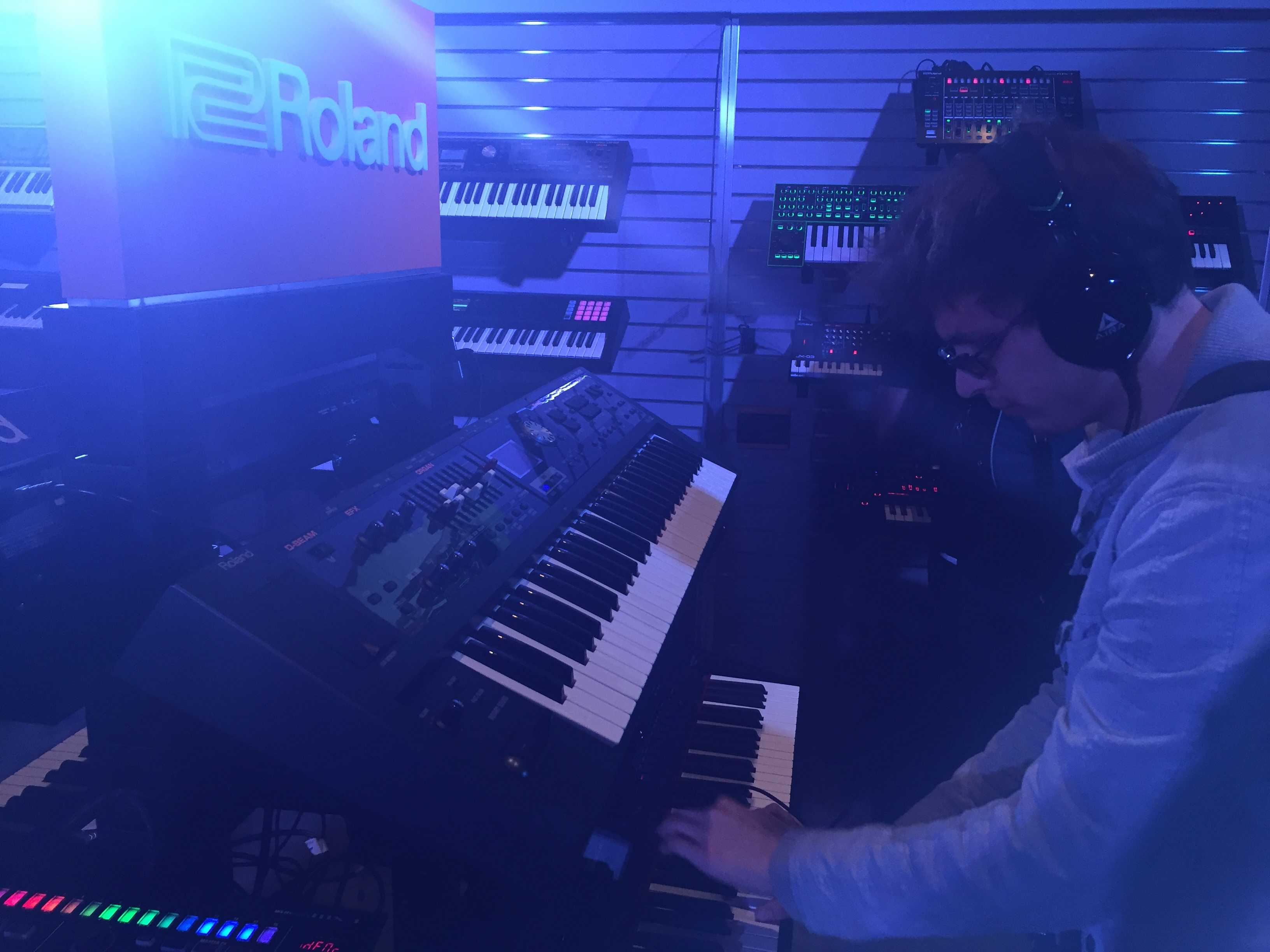 Jeremy @ Roland Booth