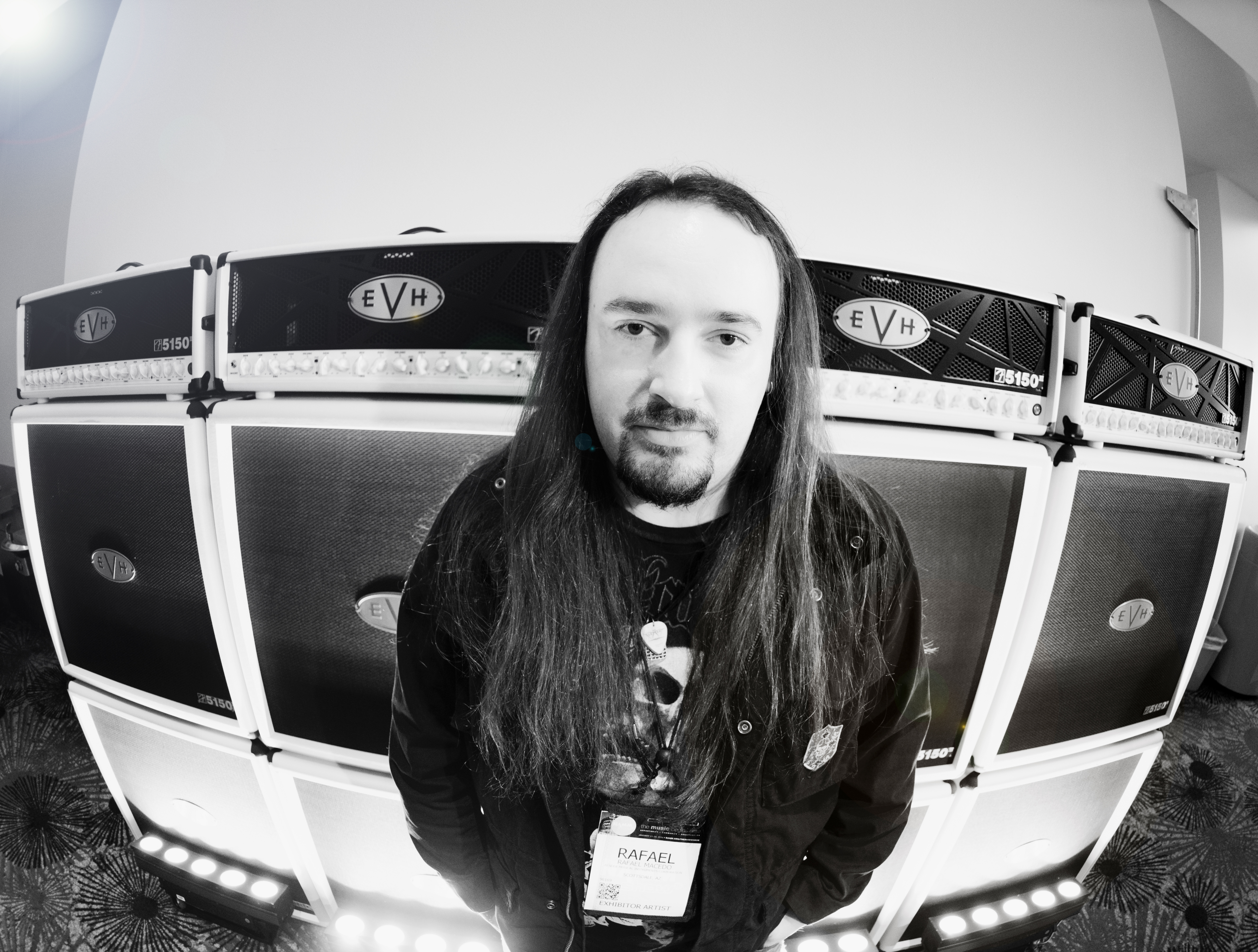 Rafael @ EVH Gear Booth