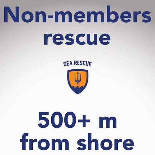 copy of Non-member rescue 500+ m
