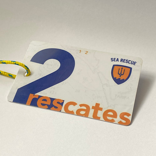 Card for 2 rescues