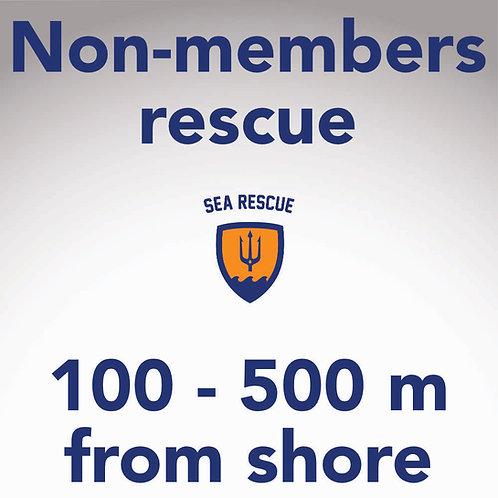 Non-member rescue 500 m