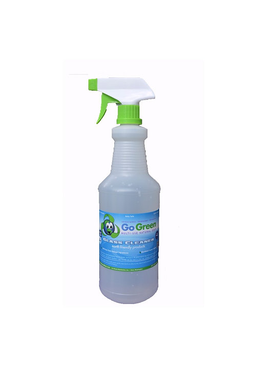 GO GREEN GLASS CLEANER - 1 Quart