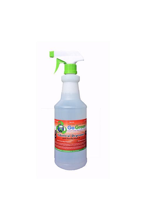 GO GREEN DEGREASER - 1 Quart Spray Bottle