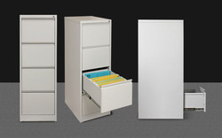 Four Drawer Vertical Filing Cabinet