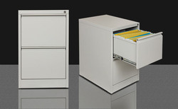 Two Drawer Vertical Filing Cabinet