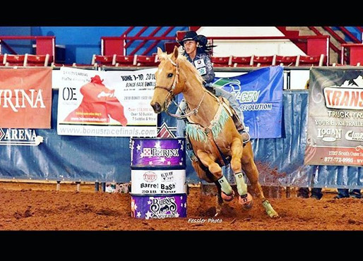 Thankful for our Barrel Racing Athletes