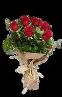 Ramo con 6 rosas rojas para envio o recogida en valencia