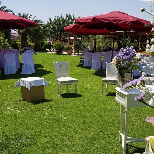 Ceremonias de Verano en Exteriores.