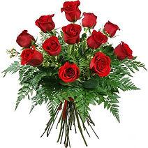 promocion, oferta en ramo de rosas rojas en nuestra floristeria en valencia la alqueria