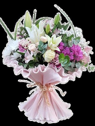 Ramo de flores variadas a nuestro gusto con las mejores flores del mercado para regalar y enviar en valencia desde floristeria la alqueria