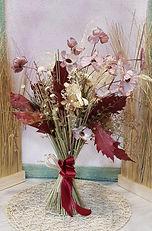 Ramo de flores secas y artificiales para regalar y enviar a domicilio de la ciudad de valencia, ideal para decoracion de casa.