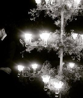 árbol de velas