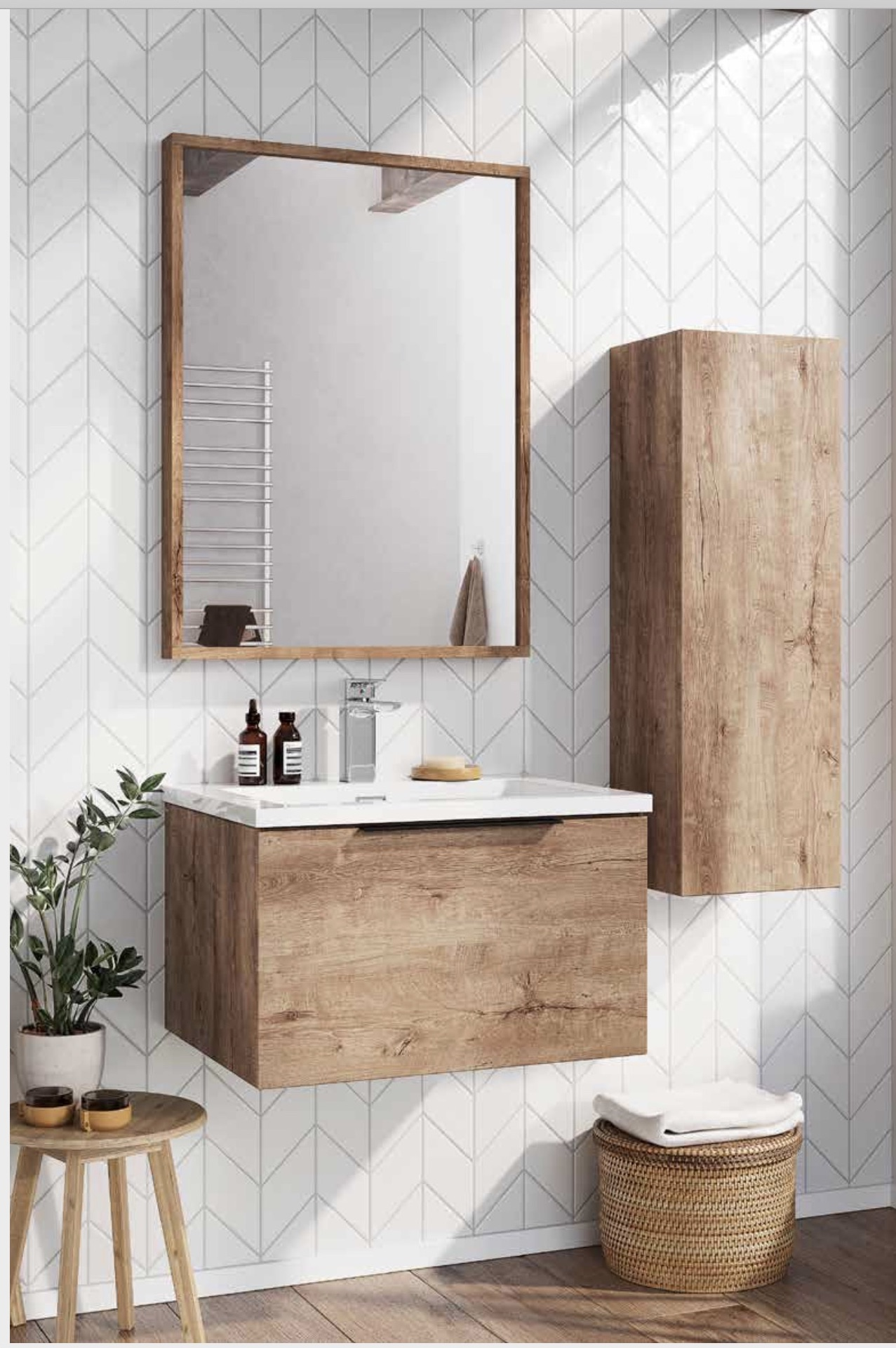 Wall-hung Bathroom Furniture