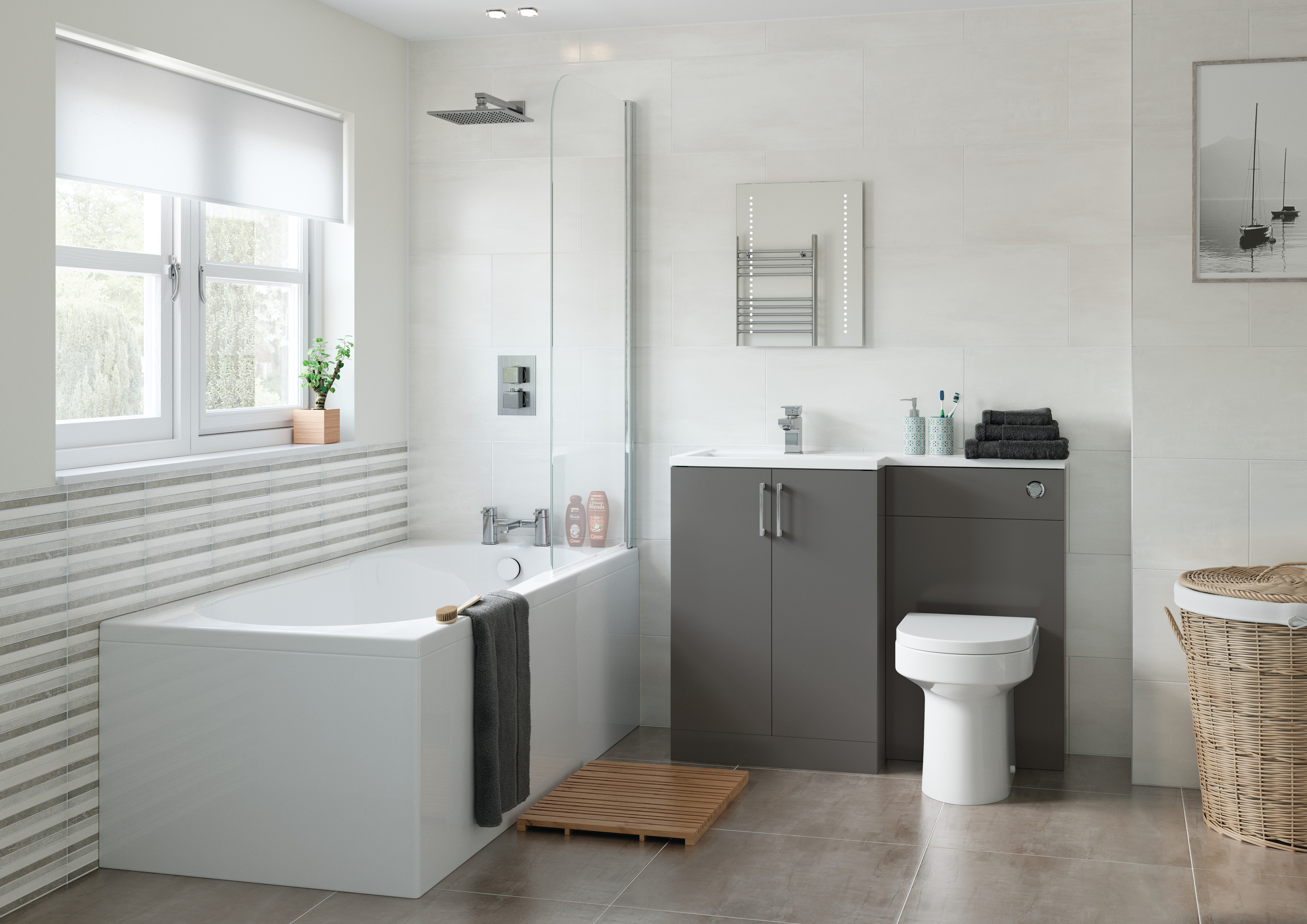 Floor Standing Bathroom Furniture