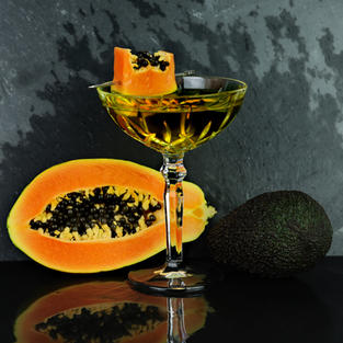 TROPICAL GOLD COCKTAIL