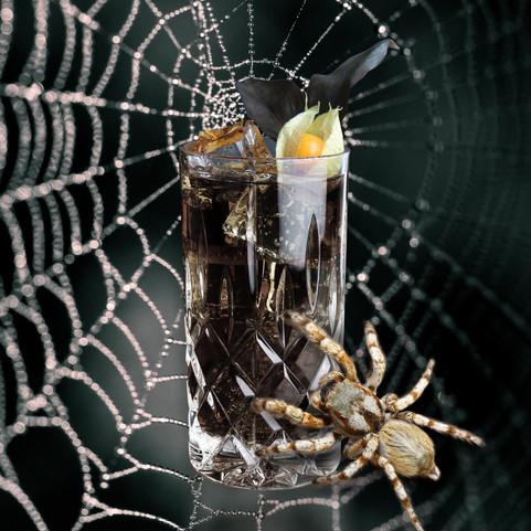THE BLACK SPIDER COCKTAIL