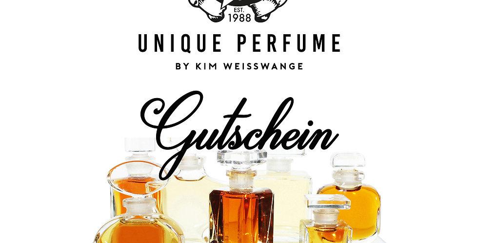 UNIQUE PERFUME GUTSCHEIN, Eau de Toilette, 50 ml