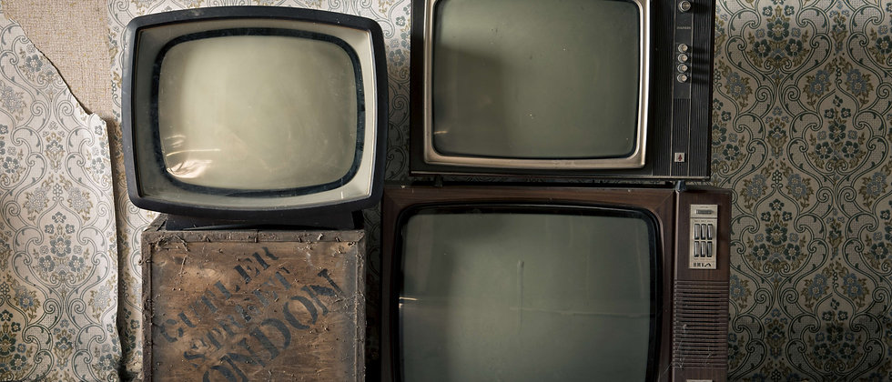 TV television screen screens cottage abandoned house derelict taken by me photography UK England