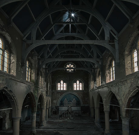 Derelict Church England Urban Explorer Photographer takenbymephotography
