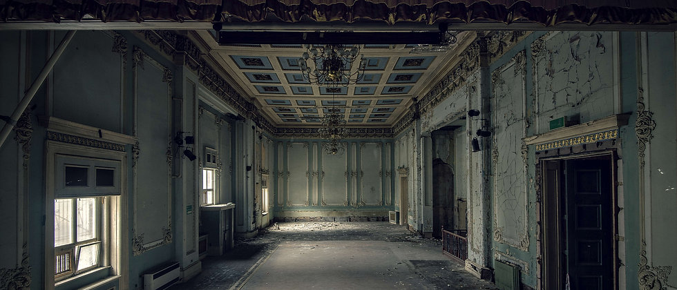 Abandoned Derelict Urban Exploring Explorer Photo Stage Hall Taken By Me Photography North West UK England
