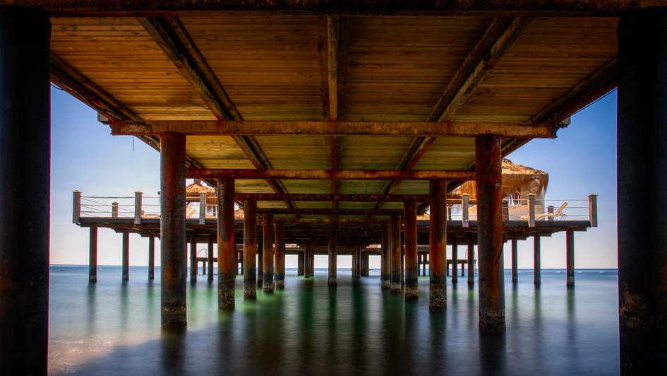 'Under the boardwalk'