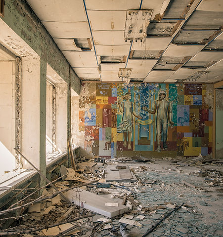 Post Office Derelict Abandoned Chernobyl Pripyat Nuclear Disaster Photos photograher urban explorer takenbymephotography
