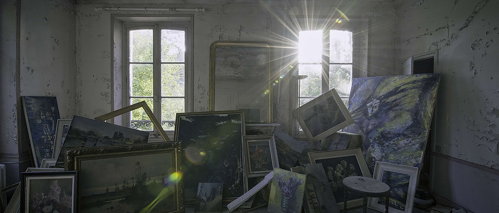 Ray Sunshine Derelict House Home Art Frame Pictures Home Abandoned Photo Taken By Me Photography