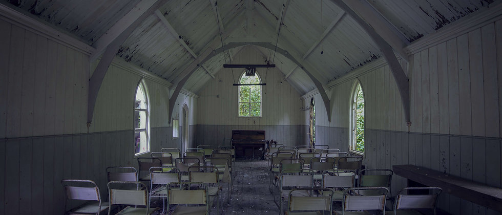 Tin Chapel Church WI womens institute Wales UK Derelict Abandoned Urban Exploring Explorer Taken By Me Photography