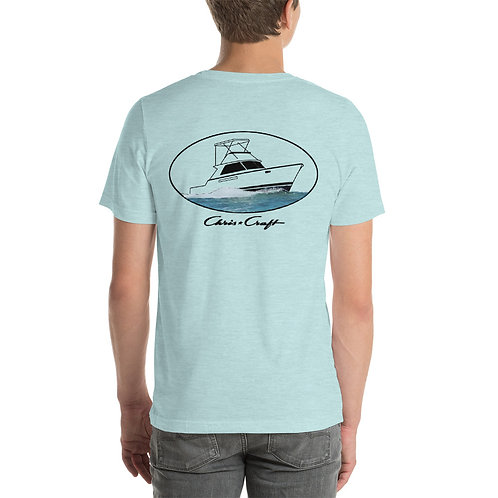 Chris Craft Commander Short-Sleeve Unisex T-Shirt