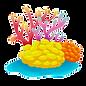 Frag Rack Coral Logo Background