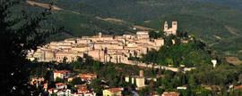 La cittadina di Nocera Umbra