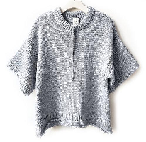 Drawstring Chunky Sweater