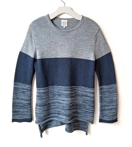 Stripe Tweed Sweater